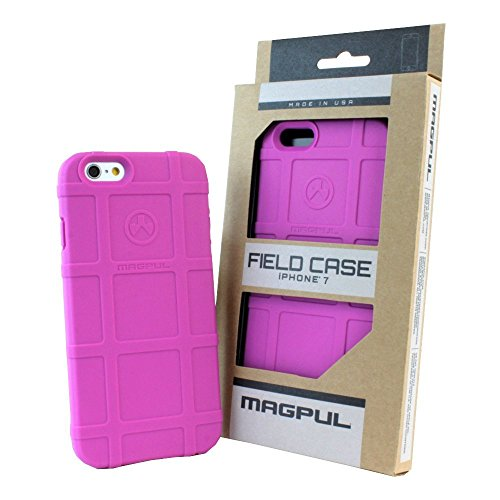iPhone 7 Case, iPhone 8 Case, with TJS [Tempered Glass Screen Protector], Magpul [Field] MAG845 Polymer Case Cover Retail Packaging For Apple iPhone 7/iPhone 8 4.7