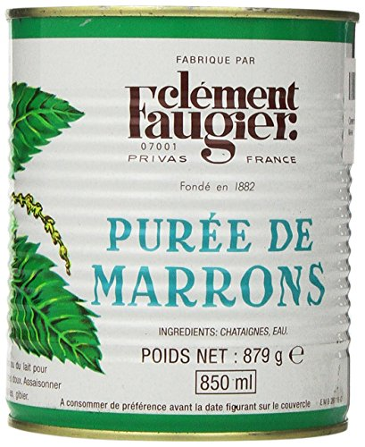 - Clement Faugier Chestnut Puree Unsweetened 31oz
