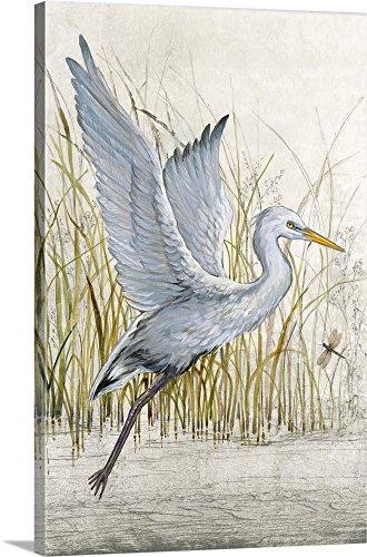 Tim O'Toole Premium Thick-Wrap Canvas Wall Art Print entitled Heron Sanctuary I 16
