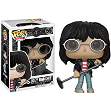 [Patrocinado] Joey Ramone: Funko POP. Rocks X Ramones vinilo Figura + 1free Música temática de Trading Card Bundle (14350)