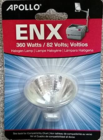 Eiko Brand for Apollo 360 Watt Overhead Projector Lamp 82 Volt VA-ENX-6 99/% Quartz Glass