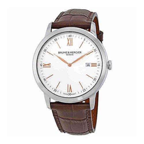 Baume et Mercier Classima Silver Dial 42mm Mens Watch 10415