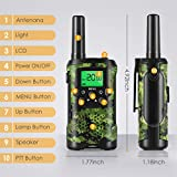 Walkie Talkies for Kids, Toys for 3-12 Year Old Boys 22 Channel 3 Mile Long Range Kids Toys and Kids Walkie Talkies, Best Christmas Gifts and Top Toys for for 3 4 5 6 7 8 9 Year Old Boy and Girls