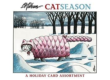 Amazon.com: Tarjetas de Navidad para gatos, tarjetas de ...