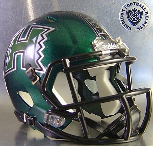 Warriors Hawaii Helmet (Hawaii Warriors 2015 - NCAA MINI Helmet)