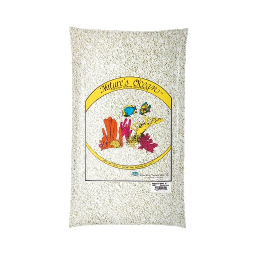 Nature's Ocean Aragonite Gravel for Aquarium, 10-Pound