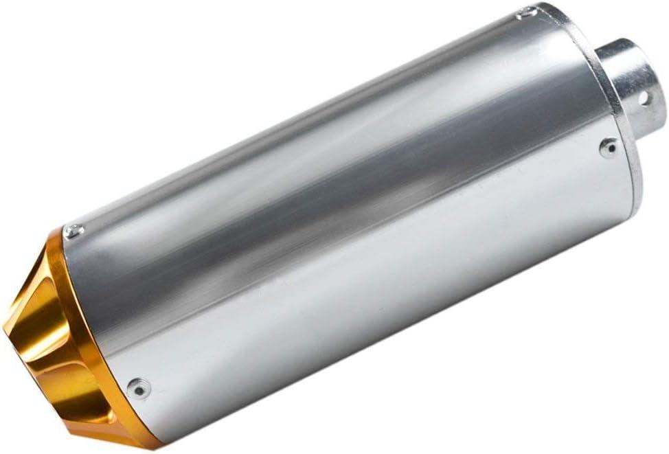 XLYZE Gold-28mm Aluminum Exhaust Muffler For 50cc 70cc 90cc 110cc 125cc CRF50 XR50 Chinese Pit Dirt Trail Bike