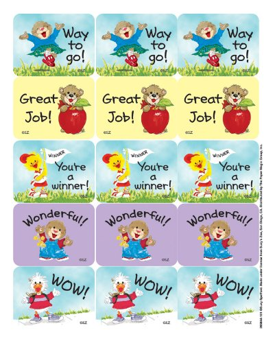 Eureka Suzy's Zoo Great Job Reward Stickers
