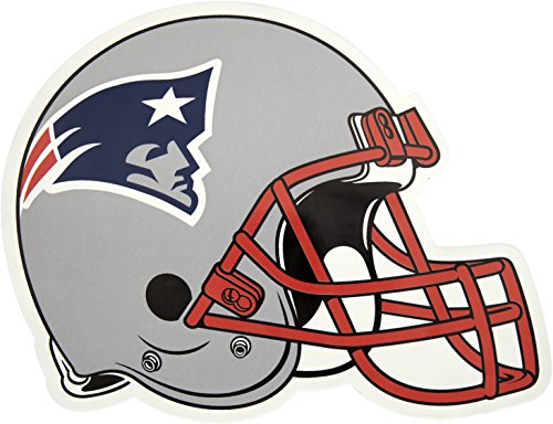 Applied Icon, NFL New England Patriots Outdoor Small Helmet Graphic Decal