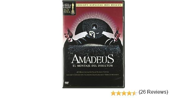 Amadeus: el montaje del director [DVD]: Amazon.es: F. Murray ...