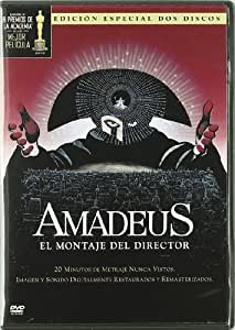 Amadeus: el montaje del director [DVD]