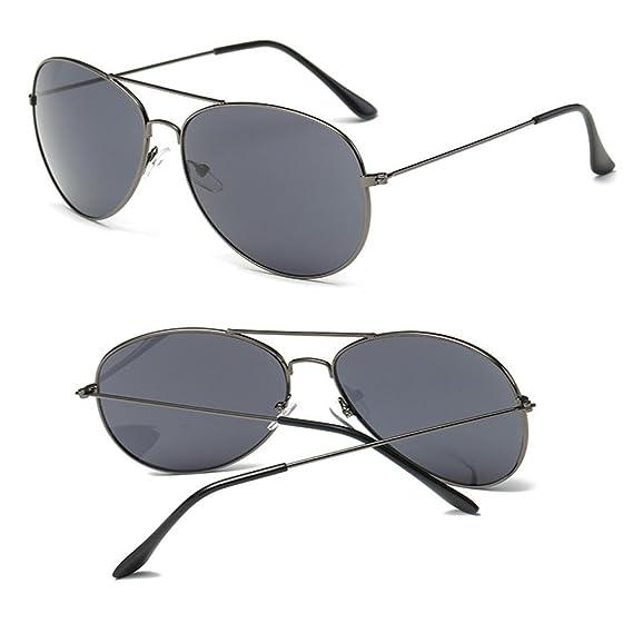 🌿 Btruely Herren Moda 2018 Gafas de sol Aviator UV400 polarizadas para hombres y mujeres Gafas Vintage Cuadrados Espejo Gafas de sol Deportes al aire libre ...