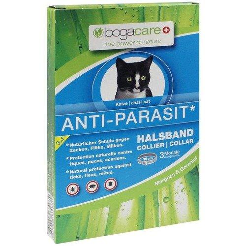 BOGACARE ANTI-PARASIT Halsband Katze 1 St Halsband Werner Schmidt Pharma GmbH UBO425