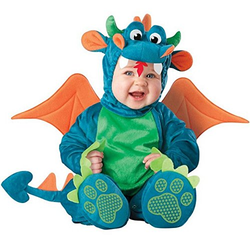 gangnumsky-Kid's Dragon Cosplay Dress New Year Crismas Party School Cosplay Costume Baby Animal Cute Romper Photography Clothes
