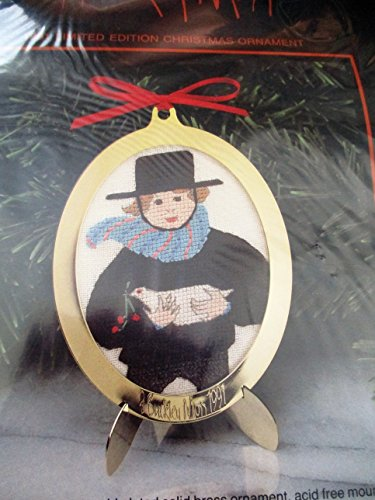 1991 Limited Edition Counted Cross Stitch Christmas, used for sale  Delivered anywhere in USA