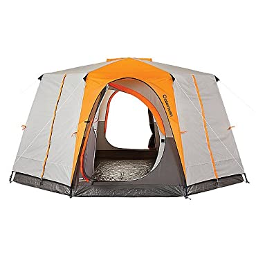 Coleman Octagon 98 Large 2 Room 8 Person Cabin Style Camping Tent  (2000014462)