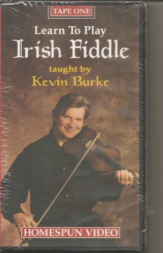 (Kevin Burke: Learn to Play Irish Fiddle [VHS])