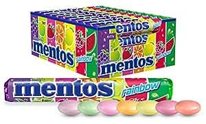 Mentos Rainbow Candy Roll, 40 Rolls x 37.5 g