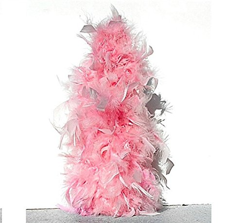 """Amazon.com: 14"""" Plain Pink Feather Christmas tree or You can also ..."""