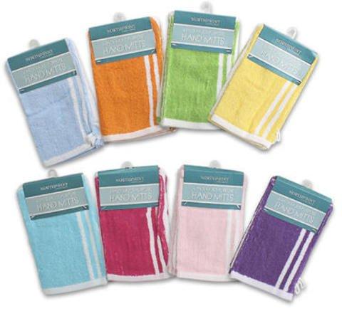 4 Pk Multi Use Multi Purpose Hand Mitts Dust Cloth 72 pcs sku# 1458872MA by DDI