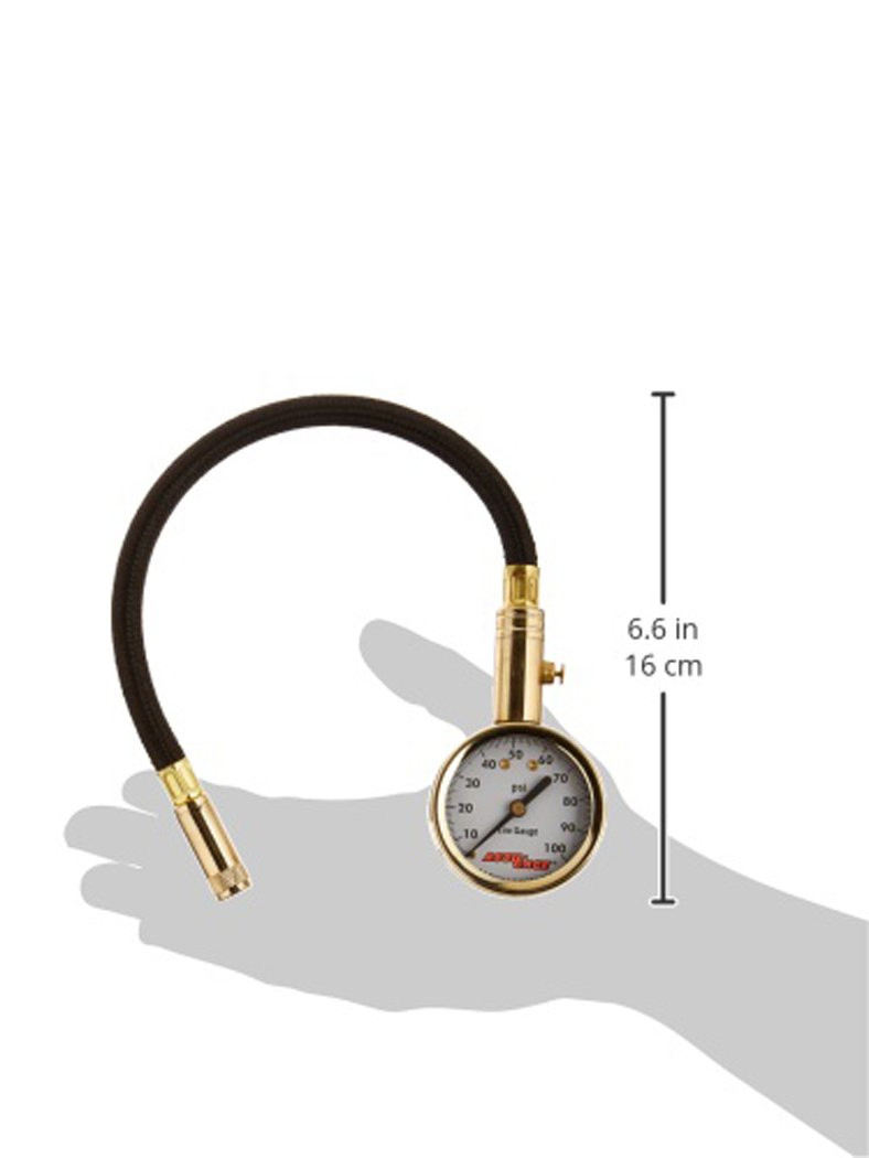 Accu-Gage H100X PSI Dial Tire Gauge by Accu-Gage (Image #2)