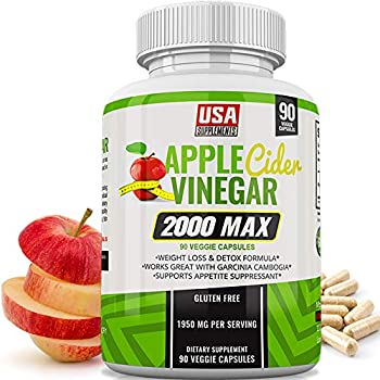 Amazon.com: Apple Cider Vinegar Capsules - Weight Loss - 1