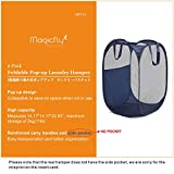 Magicfly Pop-Up Hamper, Foldable Pop-Up Mesh Hamper