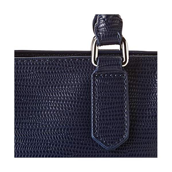 Trussardi Jeans T-Tote SM Saffiano High Freque, Borsa Donna, 10x20x25 cm (W x H x L)