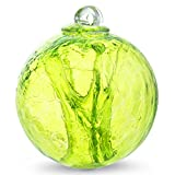 Witch Ball Hand Blown Glass (Reseda Green)