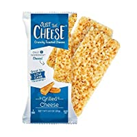 Just the Cheese Bars, Crunchy Baked Low Carb Snack Bars. 100% Natural Cheese. High...
