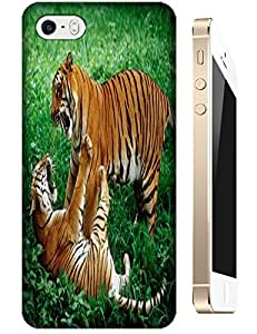 Tiger Case Cover Hard Back Cases Beautiful Nice Cute Animal hot selling cell phone cases for Apple Accessories iPhone 4/4S # 21