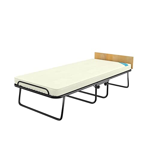 """Camabeds Easy Single Premium Roll Away Bed with Castor Wheels and 3.5"""" Mattress"""
