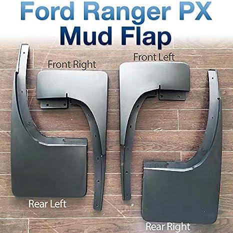 Protector de salpicaduras delantero trasero izquierdo derecho para FRanger T6 Mk1 Mk2 XL XLT Tunez MGFR01
