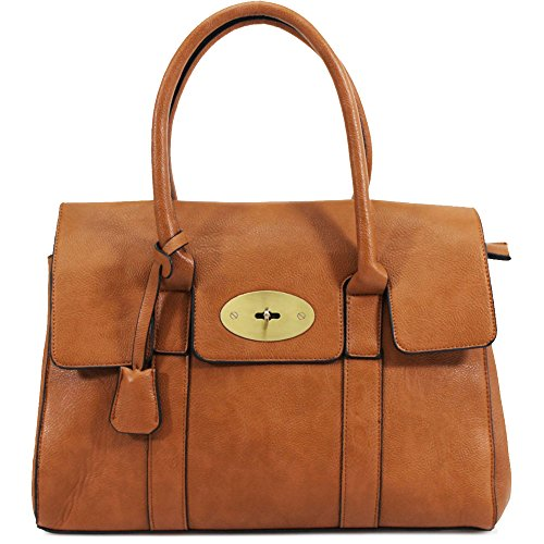 Designer Tote UK Womens Bag Shoulder Brown Frame Ladies Handbag Work Office New Bag wgdqSCx