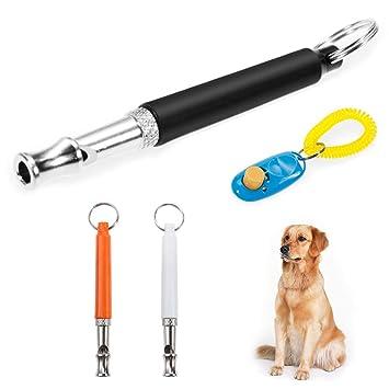 Faburo profesional Clicker con Sprial banda Clicker Entrenamiento para perros gatos Caballos: Amazon.es: Productos para mascotas