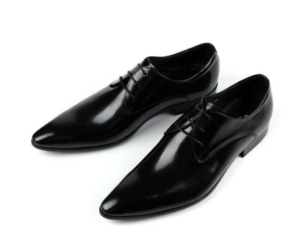 GLSHI Herren Geschäft Schuhe Mode Spitze Spitze Schuhe Kleid Schuhe Arbeitsschuhe 37-Yard