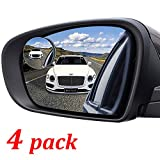 4 Pack Blind Spot Mirror