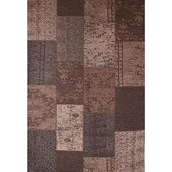 Interieur 05 Artes Vintage-Teppich (155 x 230 cm, Taupe): Amazon.de ...
