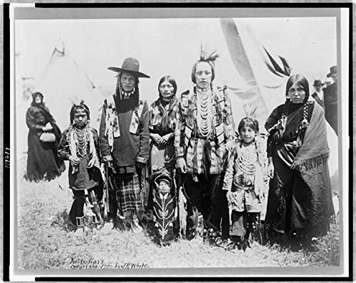 Traditional Dress Of America (Photo: Kootenais,Indians of North America,Traditional Dress,Tipi,c1907)