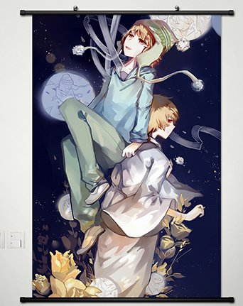 Wall Scroll Poster Fabric Painting For Anime Noragami Yukine