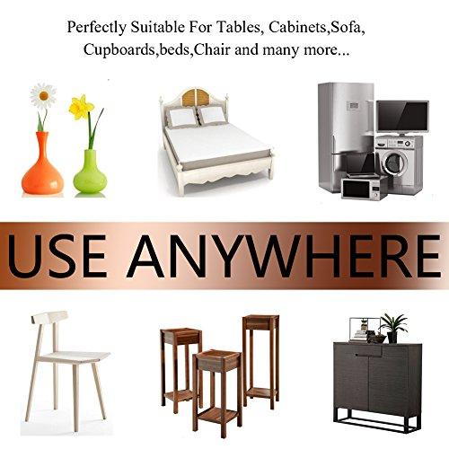BIGFOX Heavy Duty Adhesive Felt Furniture Pads Non Slip To Protect Hardwood  Floors For Tiled, Laminate, ...