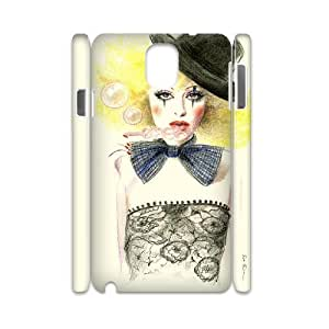 TOSOUL Diy case Clown customized Hard Plastic case For samsung galaxy note 3 N9000