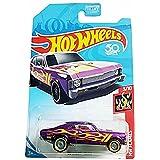Hot Wheels 2018 HW Flames '68 Chevy Nova, Purple (Treasure Hunt)
