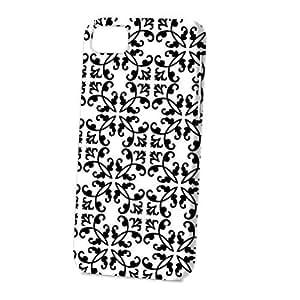 TYHde Case Fun Apple iPhone 4/4s Case - Vogue Version - 3D Full Wrap - Black Damask ending