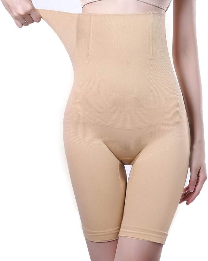 Women High Waist Shapewear Mid Thigh Slimmer Seamless Tummy Control Panty Short