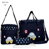 Messenger Baby Nappy Diaper hand Dark Blue Car Bags for Pretty Mummy On Sale HY-T005