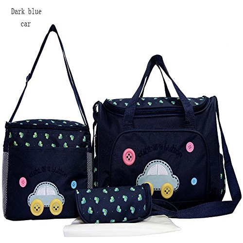 Messenger Baby Nappy Diaper hand Dark Blue Car Bags for Pretty Mummy On Sale HY-T005 by HEYANG