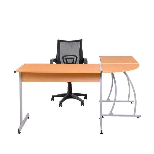 Yontree® Escritorio Angular Mesa de Ordenador Oficina Trabajo ...