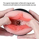 Male Masturbator Cup | Realsitic | Pocket Pussy | Women Interior Mold - Soft Men Prostate Sex Adulte Toy (Toy, Real Vagina)