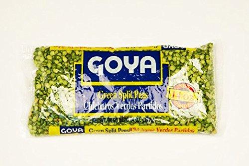 Goya, Pea Split Green, 14-ounce (24 Pack) by Goya